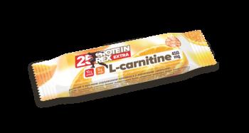 Протеиновый батончик «ProteinRex» EXTRA (25%) с L-карнитином «Апельсин» без сахара