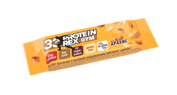 Протеиновый батончик «ProteinRex» LOW CARB (33%) «Арахис» (неглазированный) без сахара